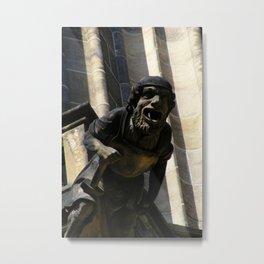 Prague X Metal Print