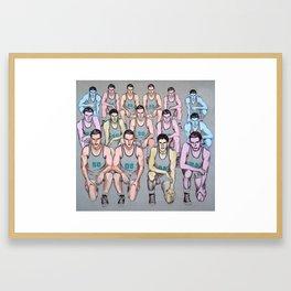 Descendants Framed Art Print