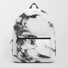 white marble no. 2 Backpack