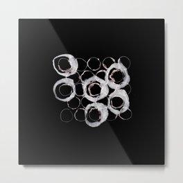 Overlapping Circles Metal Print