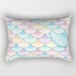 Pastel Wagon Wheels Rectangular Pillow