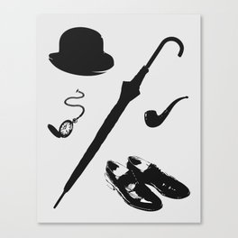 Gentleman's Accoutrements Canvas Print