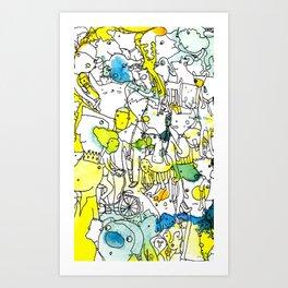 Character Cohesion Art Print