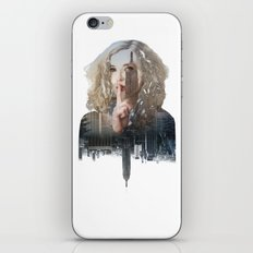 Silence In The City - Two iPhone & iPod Skin