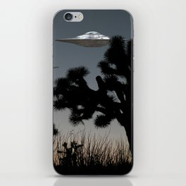 Joshua Tree Space Invasion by C.Reyes iPhone Skin