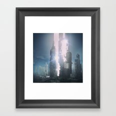 LAUNCH (everyday 09.23.15) Framed Art Print