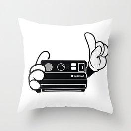 Polaroid Spectra Throw Pillow