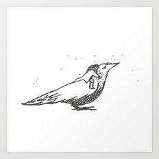Adventures with birds 1 Art Print