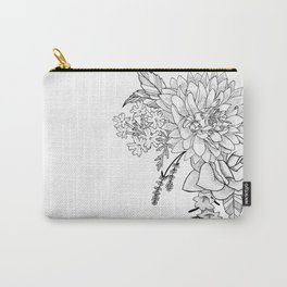 Dahlia, You're my Sweetheart Carry-All Pouch
