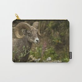 Ram Eating Fireweed Carry-All Pouch