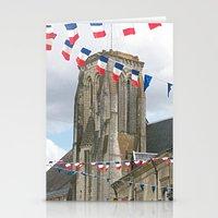 bastille Stationery Cards featuring BASTILLE DAY by Máirtín Taidhg Jack