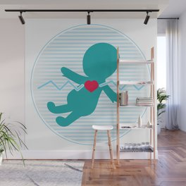 New Life Wall Mural