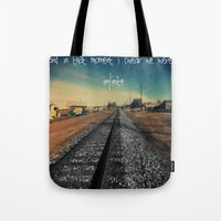 infinite Tote Bags featuring infinite by Smile_Error