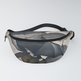 Vintage Fashion Goldenrod Suit Fanny Pack