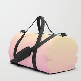 PEACH DREAMS - Minimal Plain Soft Mood Color Blend Prints Duffle Bag