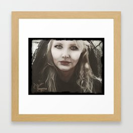 """VAMPLIFIED """"Venom and Lace"""" Framed Art Print"""
