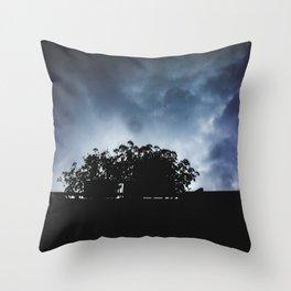 Rainy sky Throw Pillow
