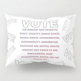 Vote Pillow Sham