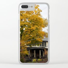 The Changing Leaves Clear iPhone Case