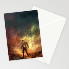 Carrying Hell Stationery Cards