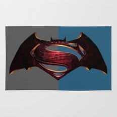 Batman/Superman Rug