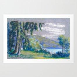 Landscape - Arthur Bowen Davies Art Print