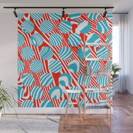 These Swirls and Dots Wall Mural