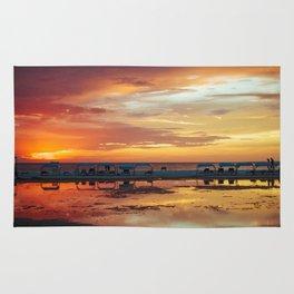 Sunset in Coche Island _ Venezuela Rug