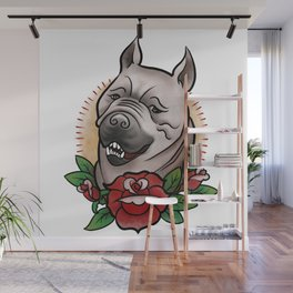 Mabari Love Wall Mural