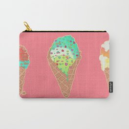 Neon Cones Carry-All Pouch