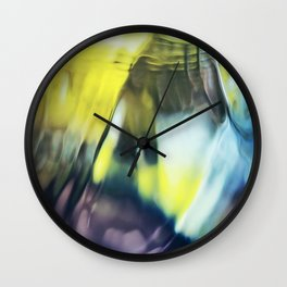 Playful Colors - Abstract Photography Wall Clock
