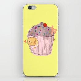 Pupcake iPhone Skin