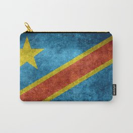 National flag of the Democratic Republic of the Congo, Vintage version (to scale) Carry-All Pouch