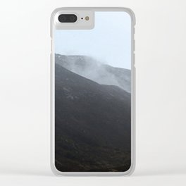 The mystery in the mountain Clear iPhone Case