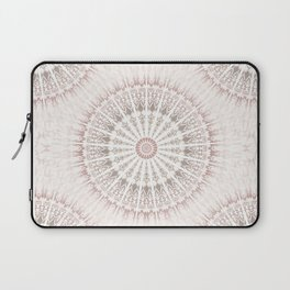 Cream Rose Mandala Laptop Sleeve