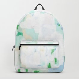 Sevli - abstract painting minimal art trendy colors dorm college home decor canvas wall art Backpack