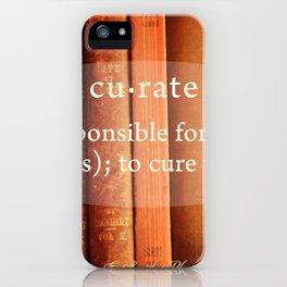 Curate iPhone Case