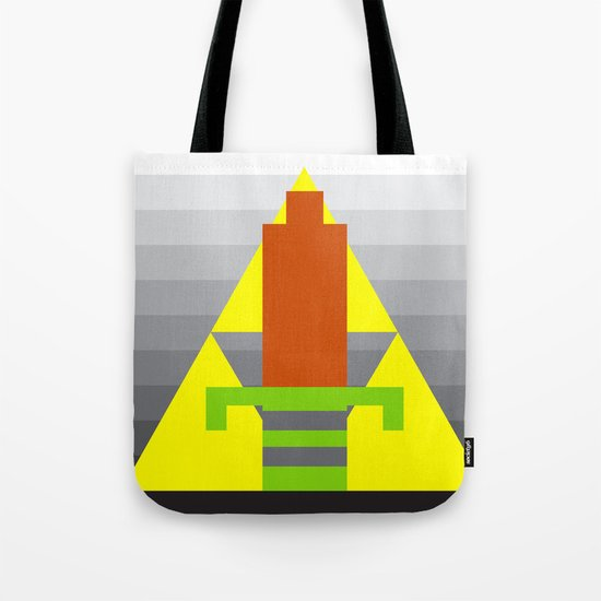8-Bit Hero Tote Bag