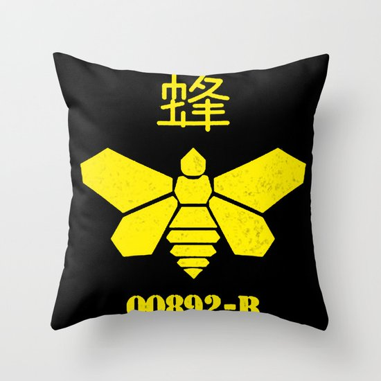 Heisenberg - Breaking Bad 892B Golden Moth Throw Pillow