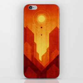 Mars - Valles Marineris iPhone Skin