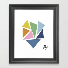 Abstraction #5 Framed Art Print