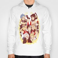 soul eater Hoodies featuring Soul Eater Meisters and Weapons by renaevsart