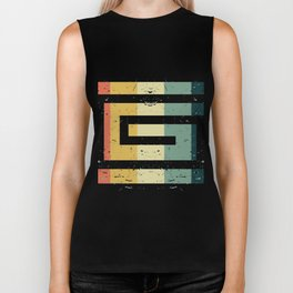 Colorful Spiral Art Gift Idea for Shirts and other Art Products Birthday Friends and Art Fans Hypno Biker Tank