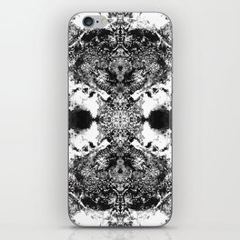 Black Gatria- Abstract Costellation Painting. iPhone Skin