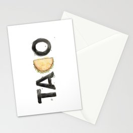 Favourite Things - Taco Stationery Cards