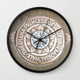 Diana Walk Wall Clock
