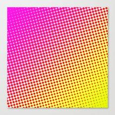 80's grade pink Canvas Print
