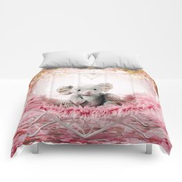 Elephant of Love Comforters