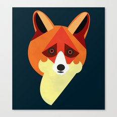 Zorro/Fox Canvas Print