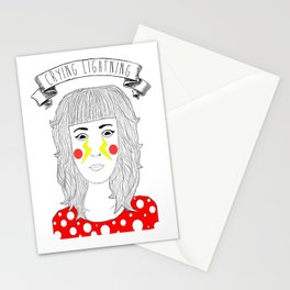Crying Lightning by Arctic Monkeys inspired Stationery Cards